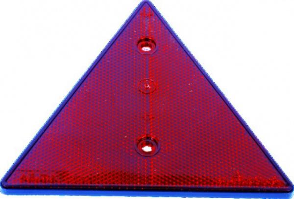 CATADIOPTRE TRIANGLE ROUGE 160X160X160 (BOX DE 2)