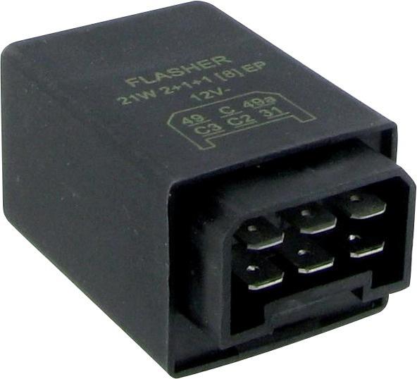 CENTRALE CLIGNOTANTE ELECTRONIQUE 12V-1 à 8X21w (BOX)