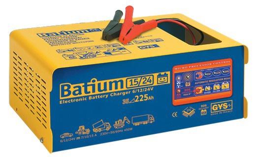 CHARGEUR BAT.AUTOM.BATIUM 15-24 6/12/24V GYS