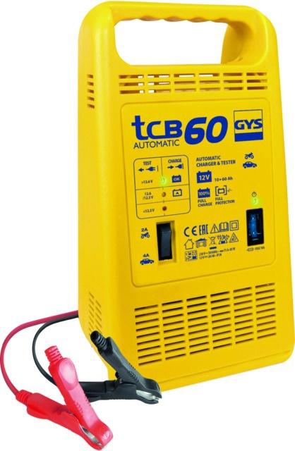CHARGEUR DE BATTERIE 15-60AH 230V TCB60 GYS