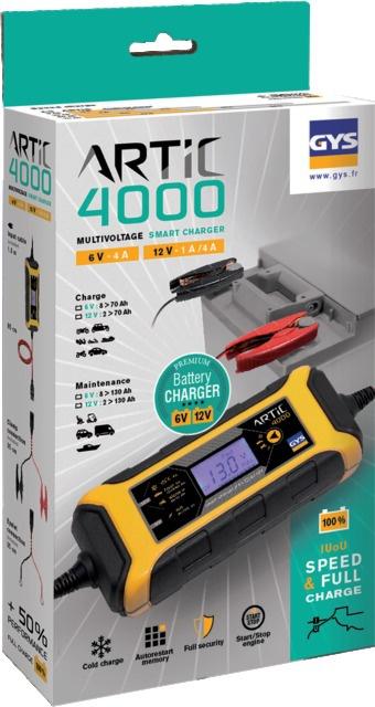 CHARGEUR DE BATTERIE ARTIC 4000 GYS