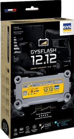 CHARGEUR DE BATTERIE GYSFLASH 12.12 V GYS