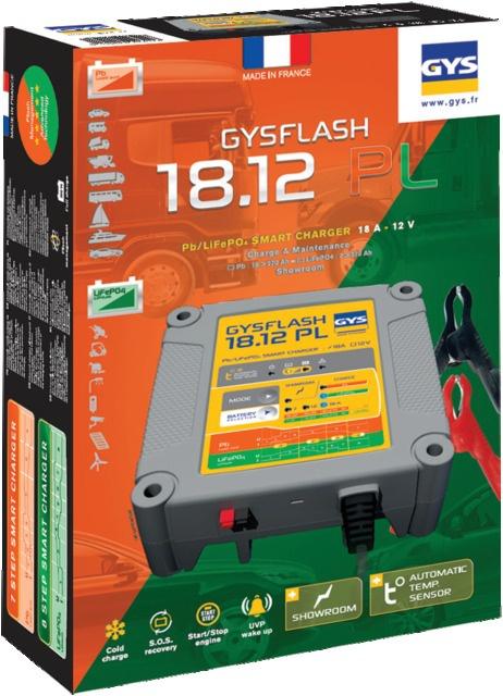 CHARGEUR DE BATTERIE GYSFLASH 18.12 PL GYS