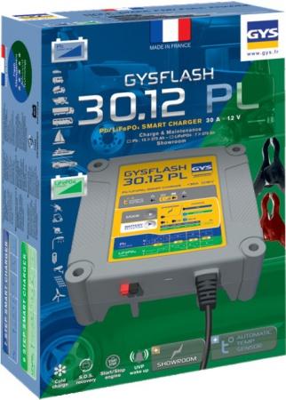 CHARGEUR DE BATTERIE GYSFLASH 30.12 PL GYS