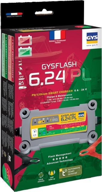 CHARGEUR DE BATTERIE GYSFLASH 6.24 PL GYS