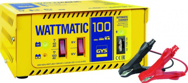 CHARGEUR DE BATTERIE WATTMATIC 100 15-100AH 6-12V