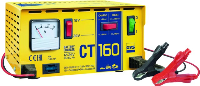 CHARGEUR TRADITIONNEL 12V-25/160A 24V 15/90