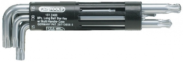 CLES T10-T50 MALE TORX S/C JEU 8