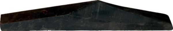 COIN ACIER SANS COUTRE GAUCHE 415 MM ORIGINE GOIZIN 010856