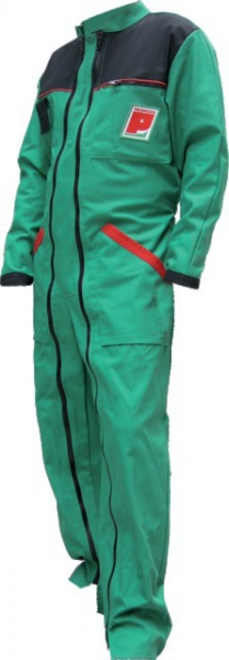 Combinaison double Zip vert/rouge Taille XXXL