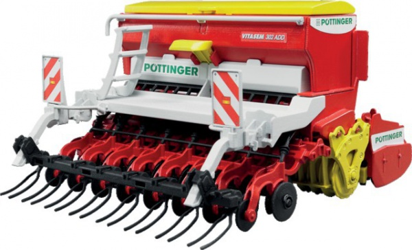 Combiné de semis VITASEM 302 ADD Pottinger 1/16