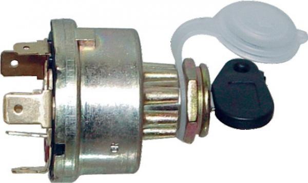 COMMUTATEUR A CLE 4 POSITIONS DIAMETRE 16mm MF (BOX)