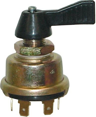 COMMUTATEUR DE CLIGNOTANTS 3 POSITIONS DIAMETRE 14mm (BOX)