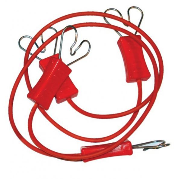 CONNECTEURS DE RUBAN CLOTURE ELECTRIQUE (X2)