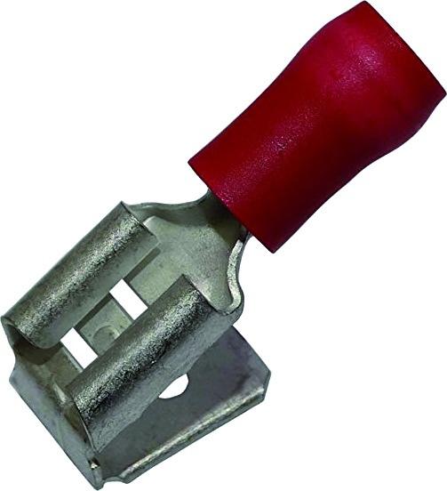 COSSE PLATE DOUBLE M/F ROUGE (BOX DE 10)