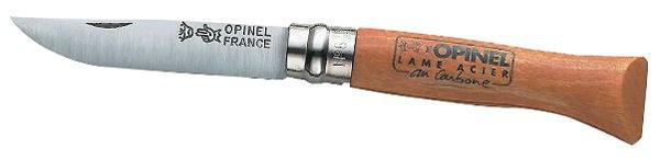 Couteau lame acier carbone Opinel N°6