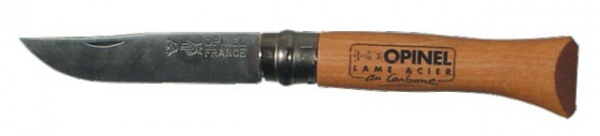 Couteau lame acier carbone Opinel N°7