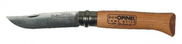 Couteau lame acier carbone Opinel N°9