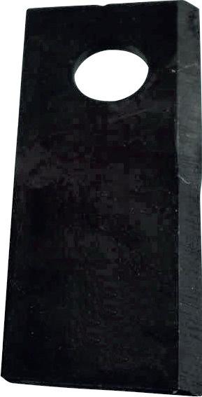 Couteau vrillé droit 45X4X107 mm origine KUHN 55903210