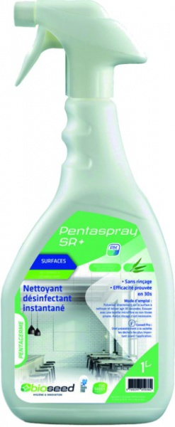 DESINFECTANT MAINS ET SURFACE SPRAY 750ML