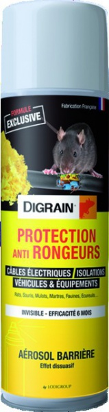 DIGRAIN SPRAY PROTECTION ANTI RONGEURS 500ML