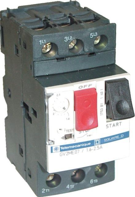 Disjoncteur magnétothermique 6 à 10 ampéres