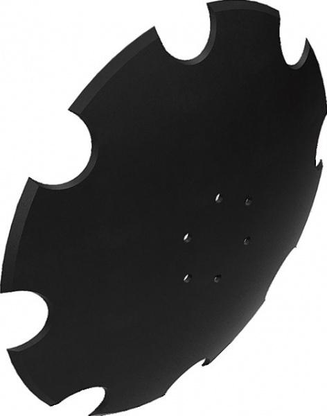 Disque crenelé 460X5 mm adaptable LEMKEN 3490471