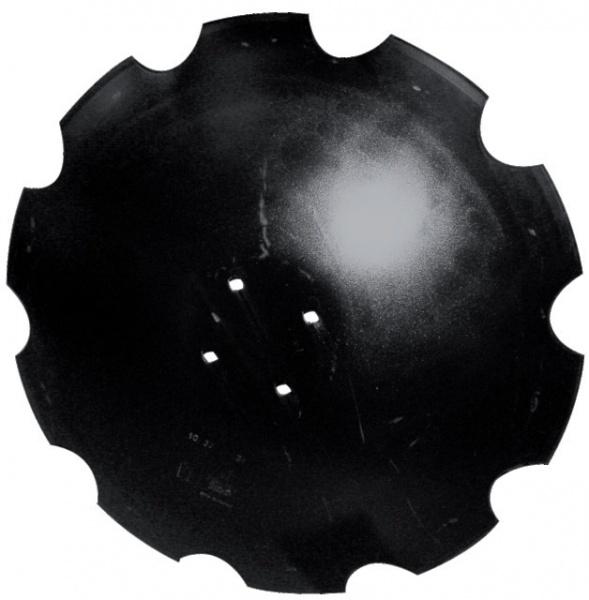 Disque crénelé 610X5 mm adaptable AGRISEM TCS-DIS-503