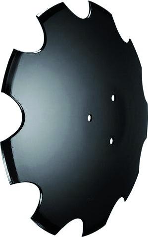Disque crénelé diamètre 460X3 mm 3 trous adaptable HORSCH