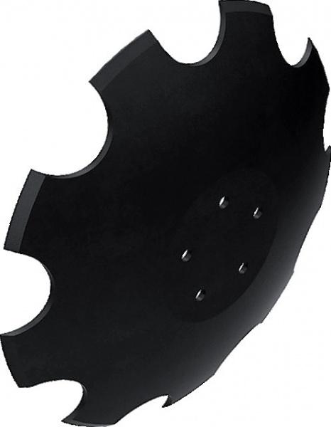 Disque crénelé Jockert RT- CT 460X6mm 5 trous adaptable HORSCH 28071304