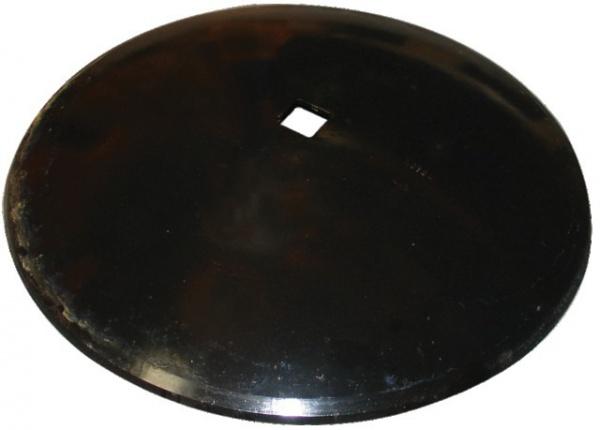 Disque lisse diamètre 660X6 mm avec carré de 41 mm forges de Niaux