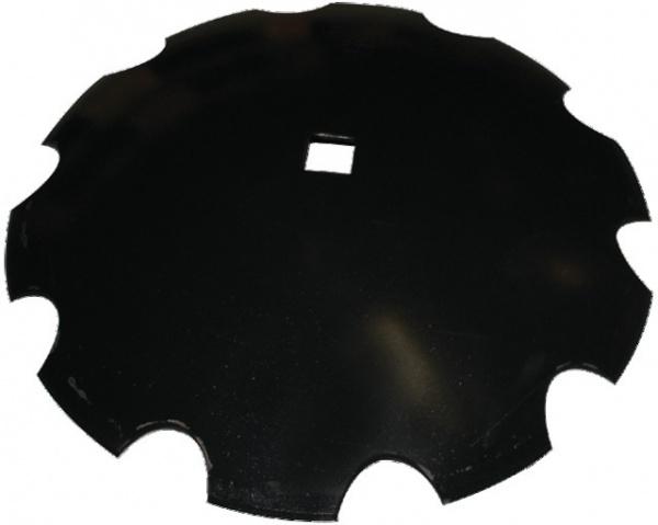 Disque universel cover-crop crénelé diamètre 610X6 mm trous carré41 NIAUX