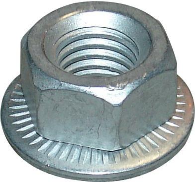 ECROU FREIN 6 PANS 12 MM