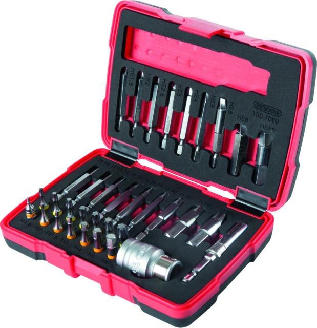 Embouts d\'extraction Ks Tools vis torx et 6 pans coffret de 34 pieces