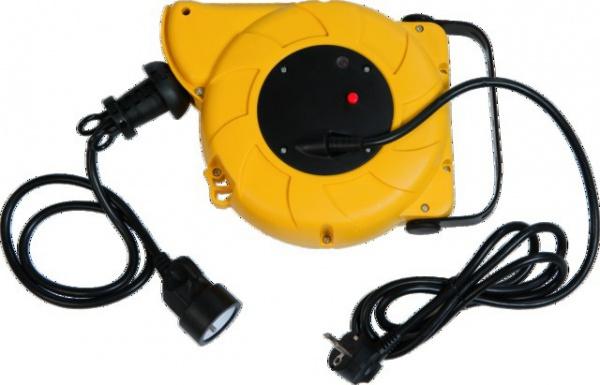 ENROULEUR ELECTRIQUE RAPPEL AUTO 3G1,5 11M H05VVF + 1M