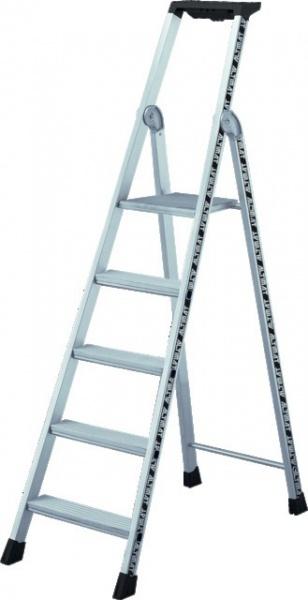 Escabeau aluminium 5 marches hauteur 1,94 mètres