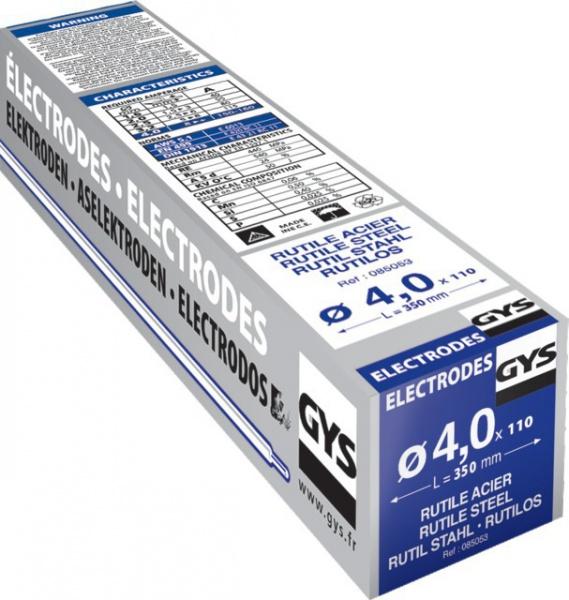 ETUI DE 110 ELECTRODES dia 4,0 lg 350mm