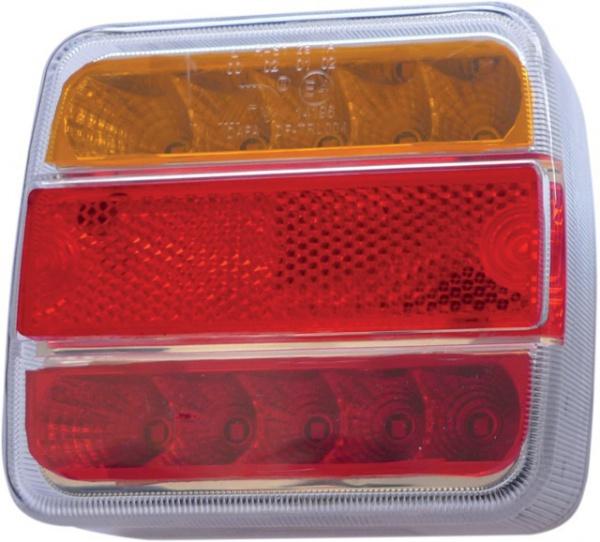 FEU ARRIERE 4 FONCTIONS LED 105X98X36 12V