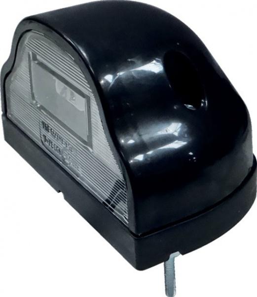 FEU ECLAIREUR DE PLAQUE 12/24V NOIR LED