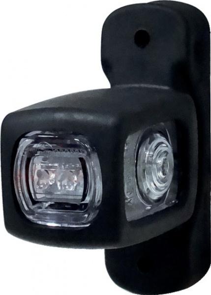 FEU GABARIT 5 LED 12/24V REVERSIBLE ROUGE/BLANC/ORANGE
