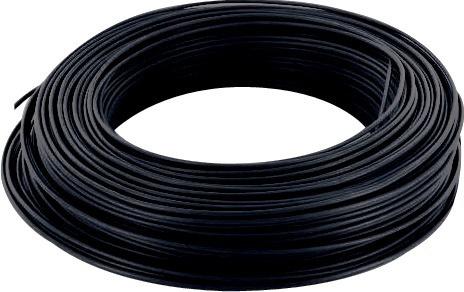 Fil électrique noir 1,5 mm²