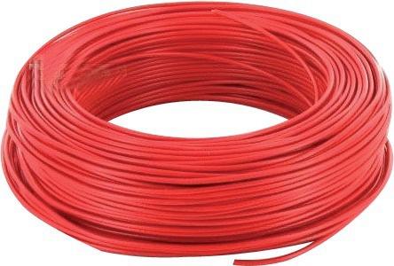 Fil électrique rouge 2,5 mm²