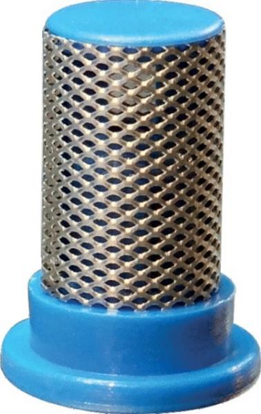 Filtre de buse cylindrique bleu 50 mesch