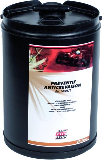 Fût liquide préventif anti-crevaison 20L