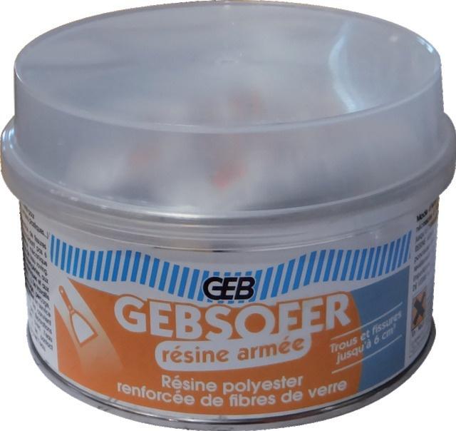 GEBSOFER RESINE ARMEE BOITE 400ML
