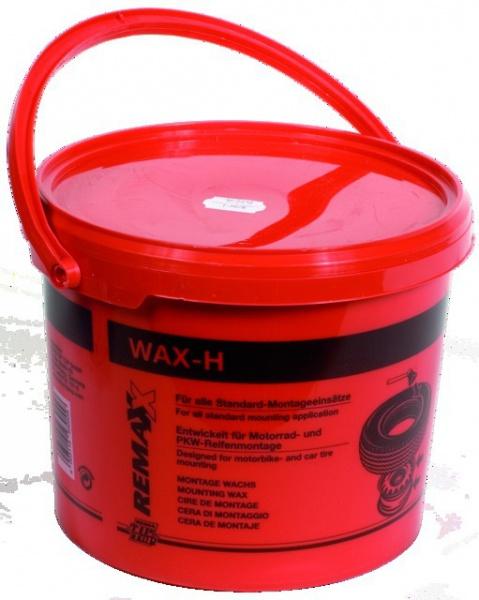 "GRAISSE A PNEU \""WAX H\"" ROSE SEAU 5 KG"