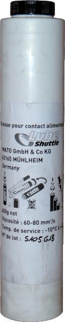 GRAISSE ALIMENTAIRE CART.400GR LUBE-SHUTTLE