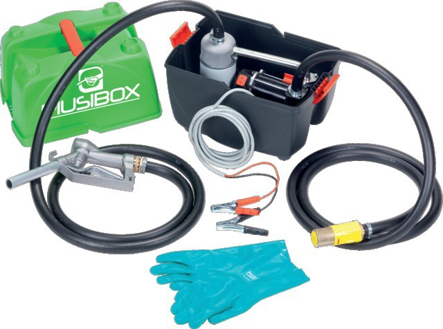 GROUPE GASOIL PRO 12 V 45L/MN PIUSI BOX