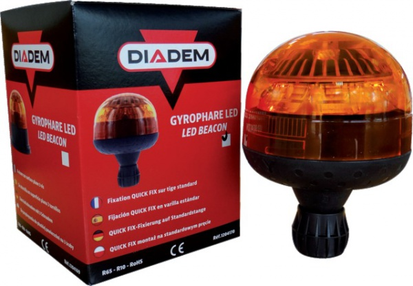 GYROPHARE LED DIADEM TIGE FLEXIBLE