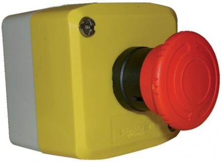 Intérrupteur d'arrêt d'urgence coupe poing 220 V